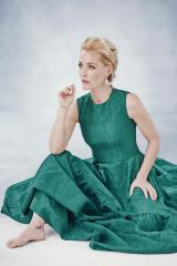 Harpers green dress