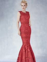 Harpers red dress