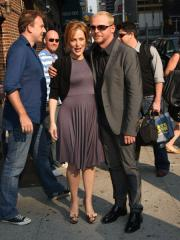 """<<visits>> """"Late Show with David Letterman"""" at the Ed Sullivan Theatre on July 28, 2008 in New York City."""