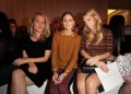 With Olivia Palermo and Vanessa Kirby