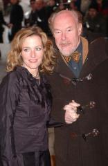 Gillian Anderson and Timothy West